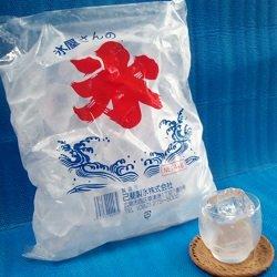 画像1: かちわり氷4kgNET☆1ケース3袋入り☆送料別