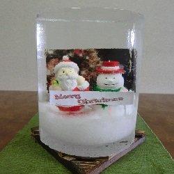 画像1: ギフト氷【クリスマスver.】★送料無料★