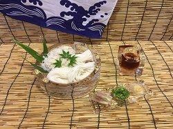 画像2: 氷でひんやり!美味しいそうめんを!!そうめん皿セット(4人前)1500円