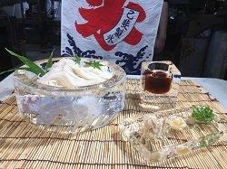 画像1: 氷でひんやり!美味しいそうめんを!!そうめん皿セット(4人前)1500円